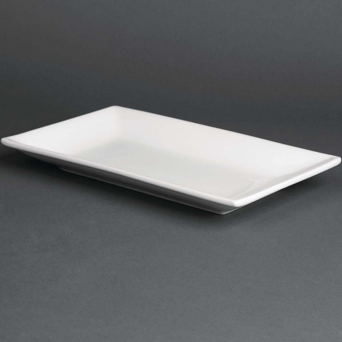 Olympia Serving Rectangular Platters 250x 150mm