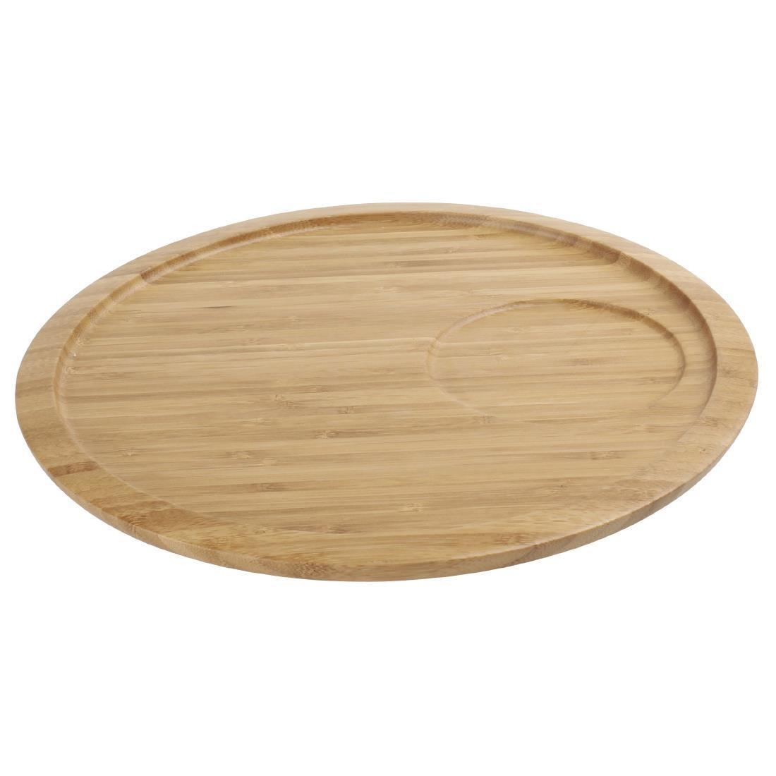 Olympia Bamboo Serving Platter 280mm