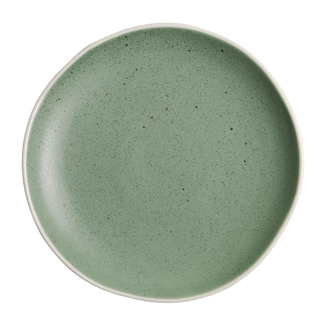 Olympia Chia Plates Green 205mm