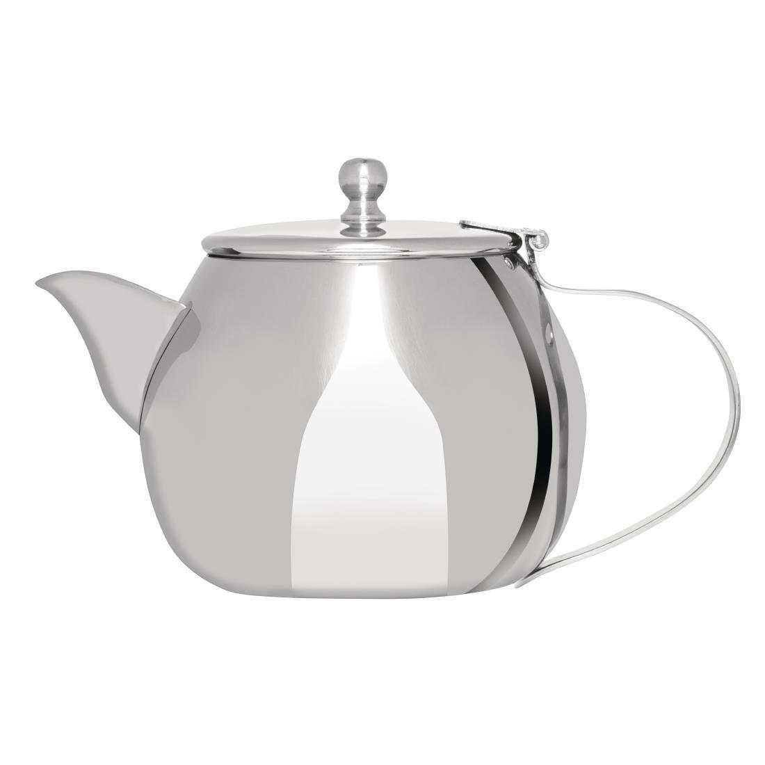 Olympia Non-Drip Stainless Steel Teapot 430ml