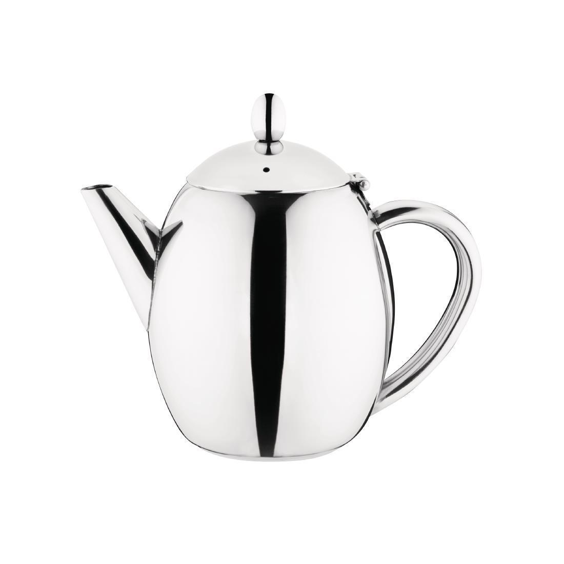 Olympia Richmond Stainless Steel Teapot 1Ltr