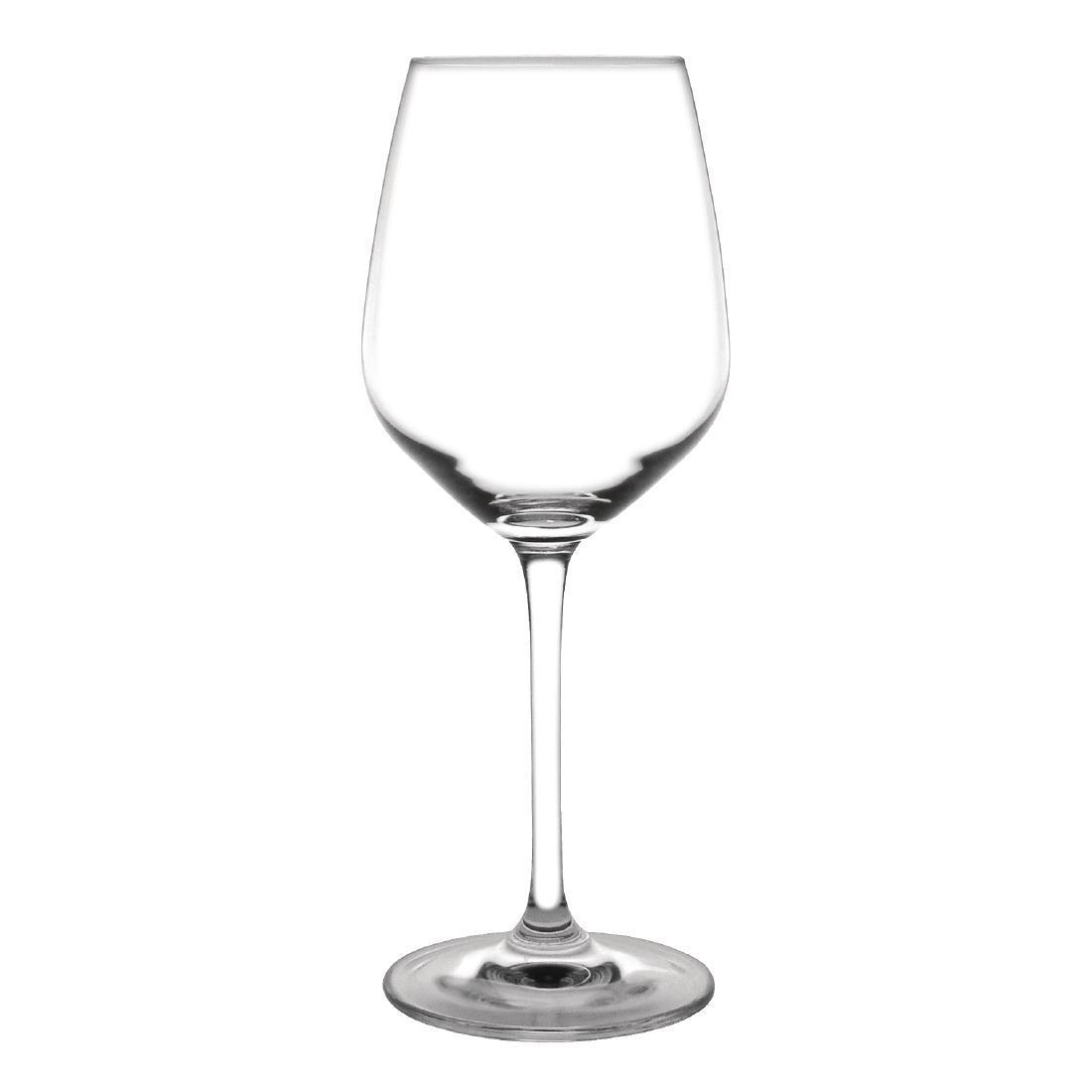 Olympia Chime Crystal Wine Glasses 365ml