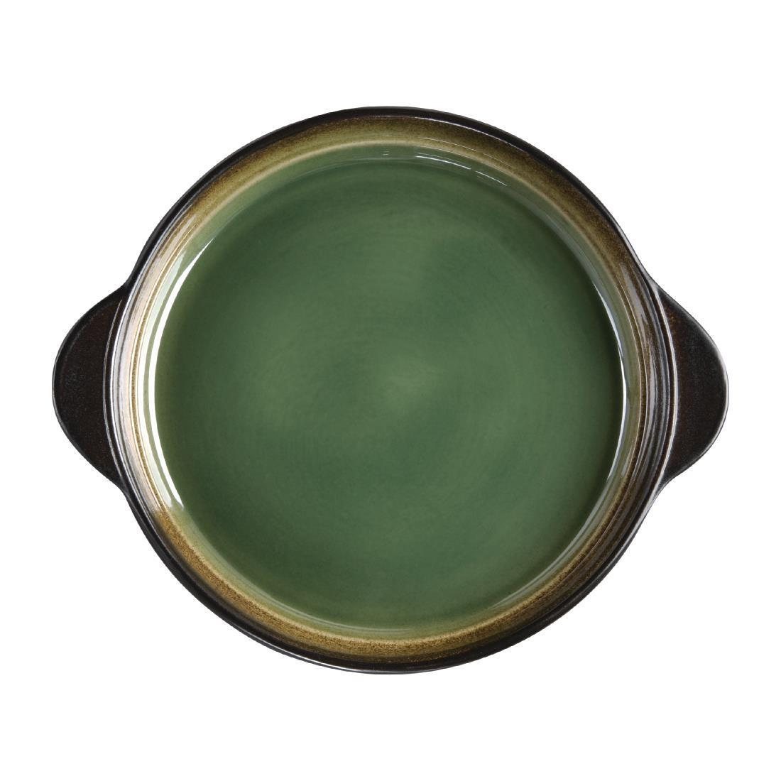 Olympia Nomi Round Tray Green 190mm