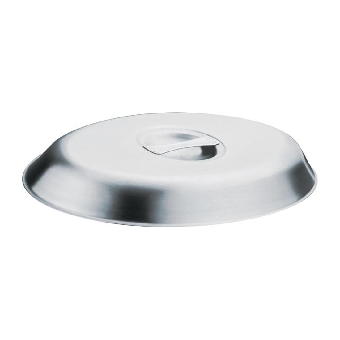 Olympia Oval Vegetable Dish Lid 250 x 170mm