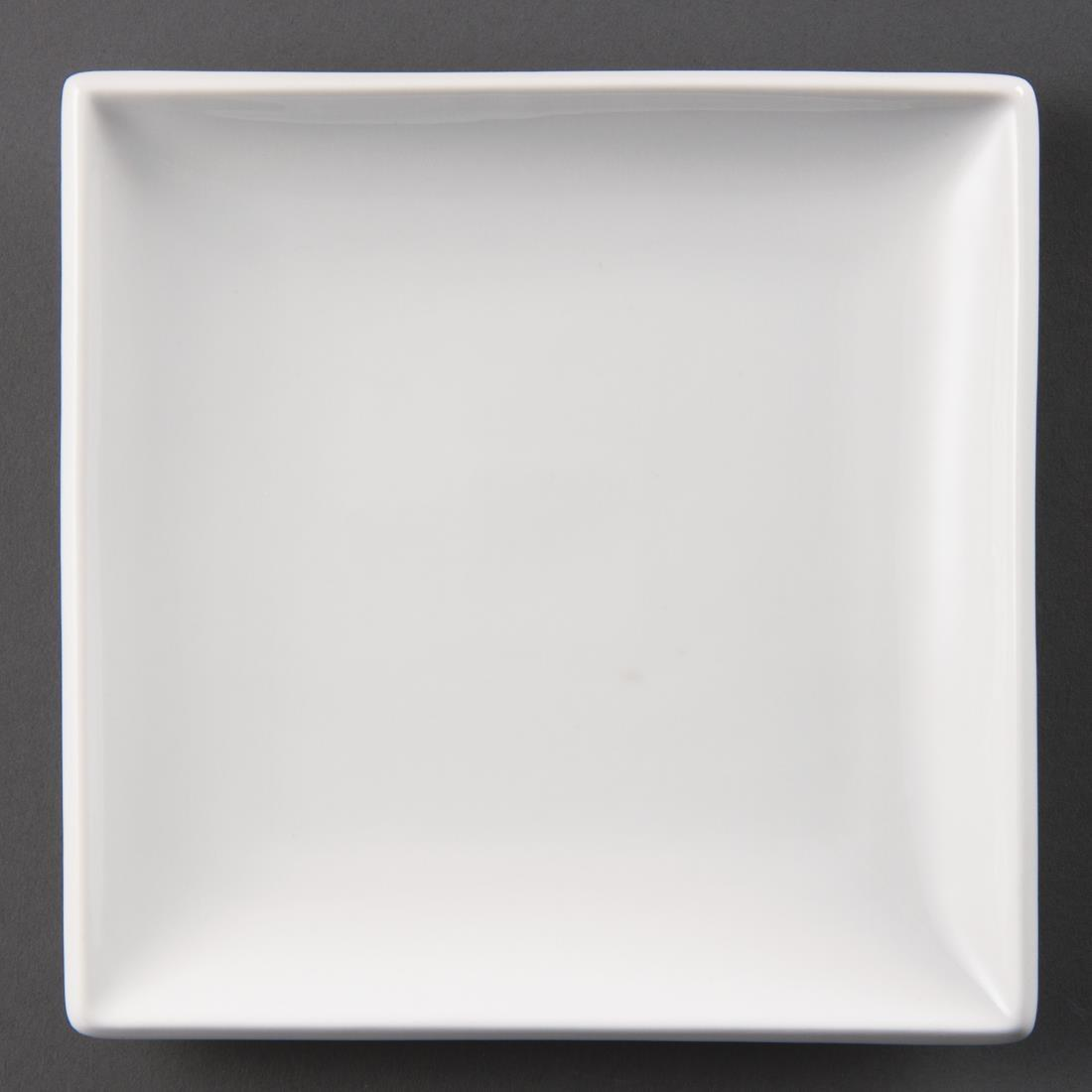 Olympia Whiteware Square Plates 180mm
