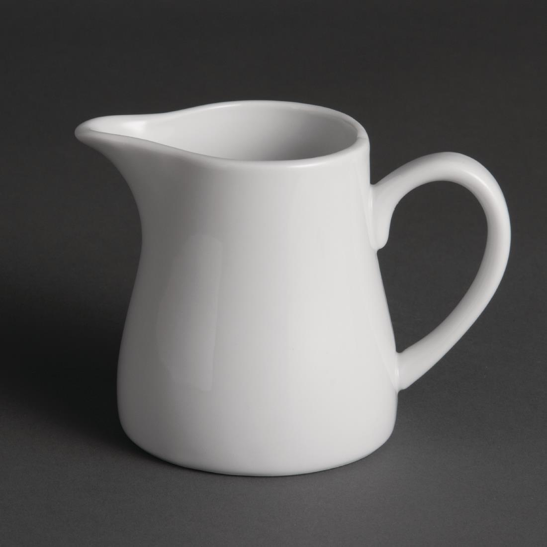 Olympia Whiteware Cream and Milk Jugs 305ml