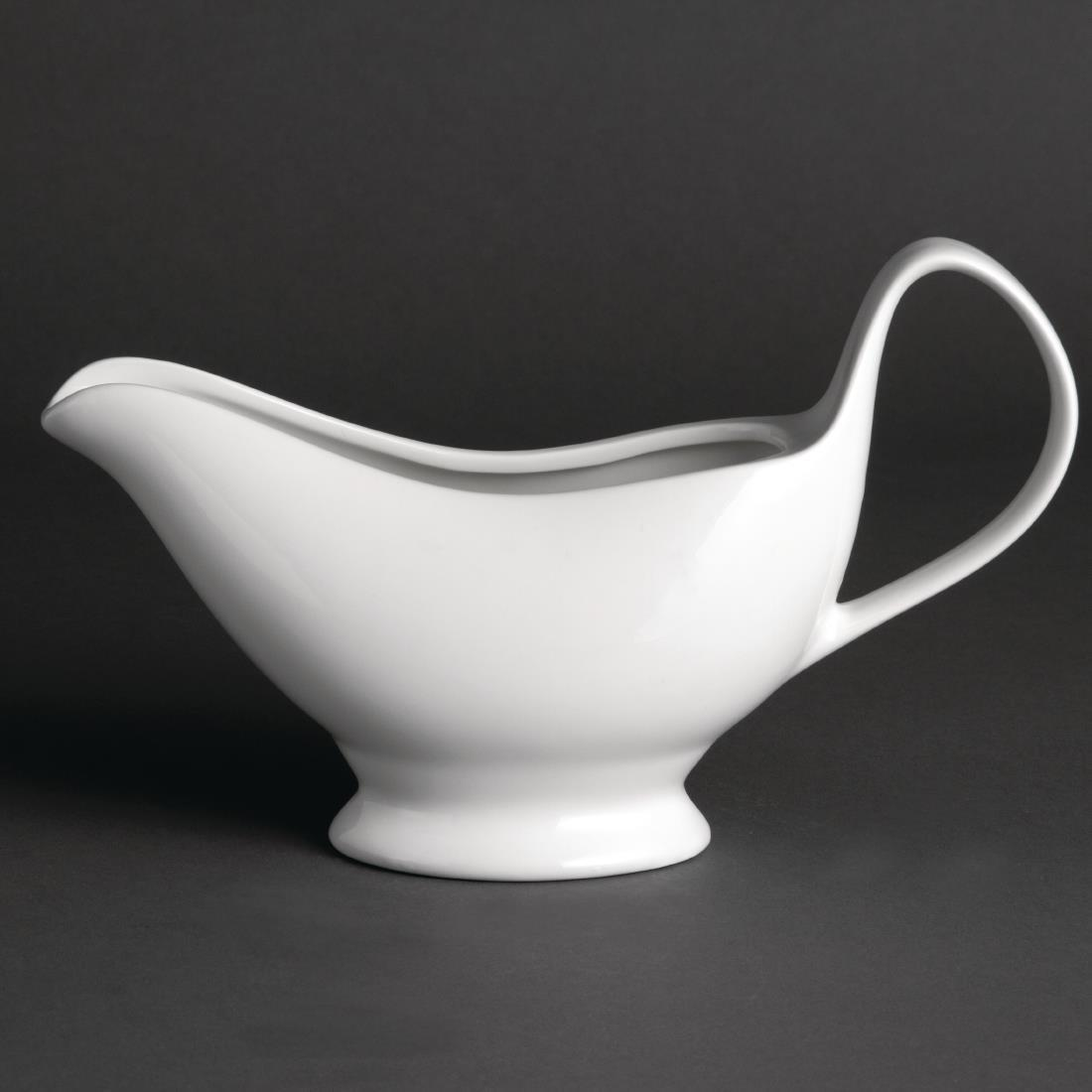 Olympia Whiteware Gravy Boats 340ml 12oz