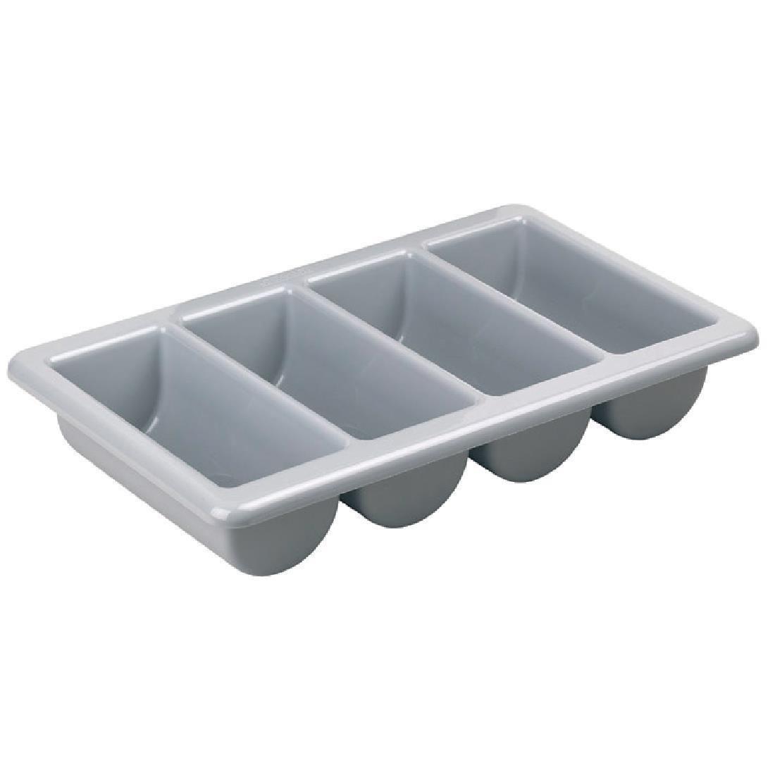 Kristallon Stackable Plastic Cutlery Tray Large - Each - J850