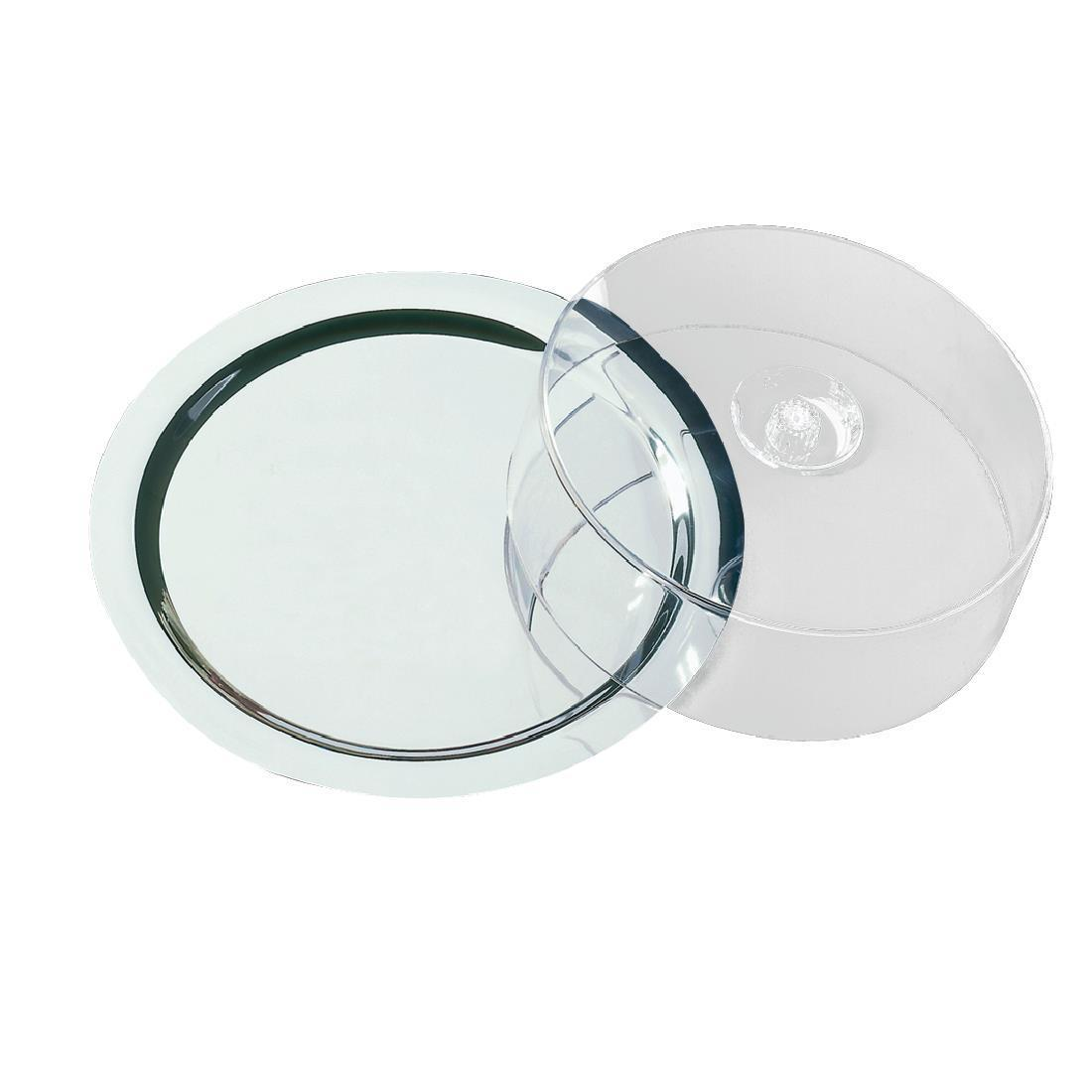 Round Tray With Cover - Each - F763