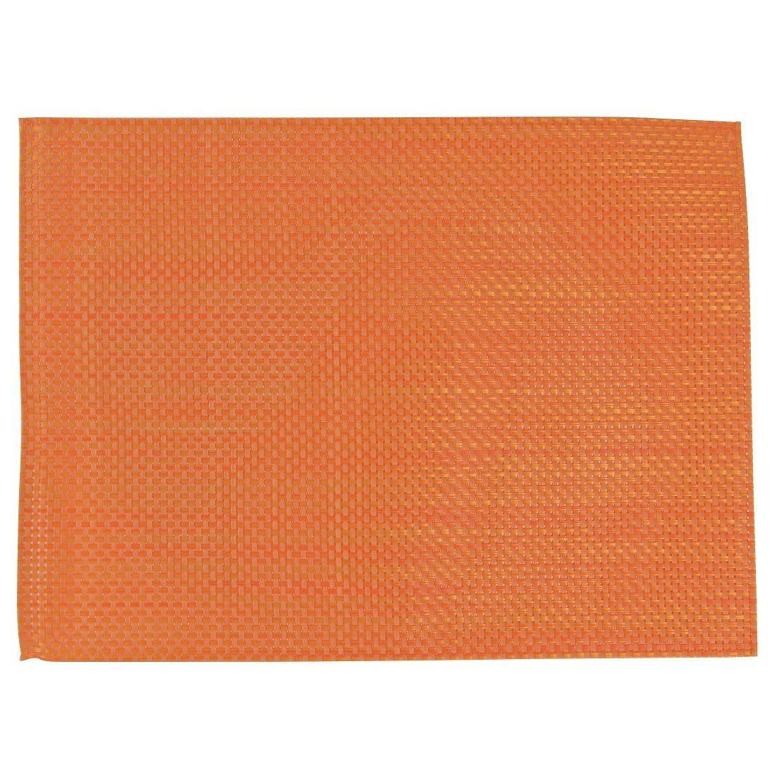 APS PVC Placemat Orange - Case 6 - GJ993