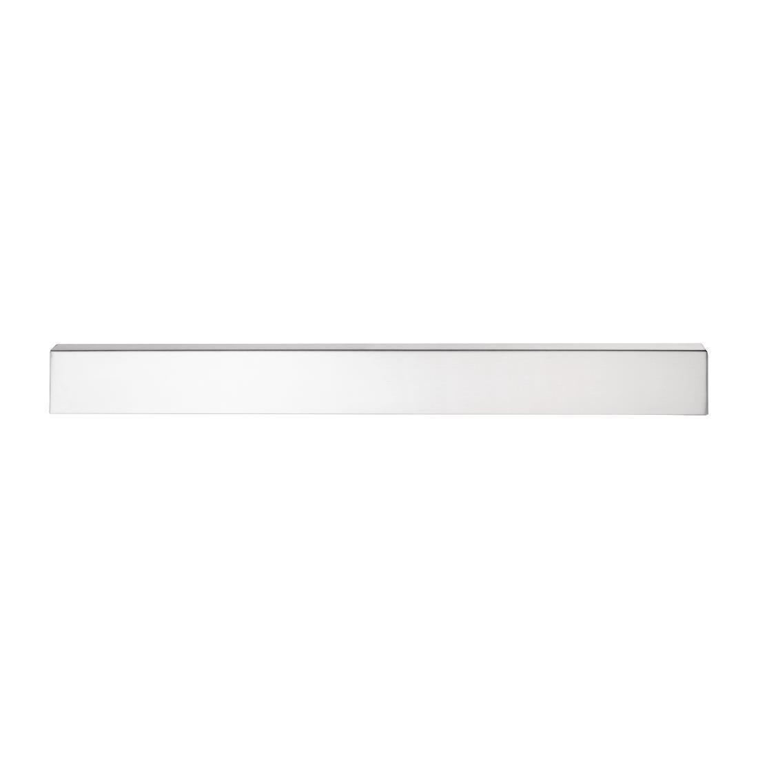 Vogue Stainless Steel Magnetic Knife Rack 450mm - Each - CP118