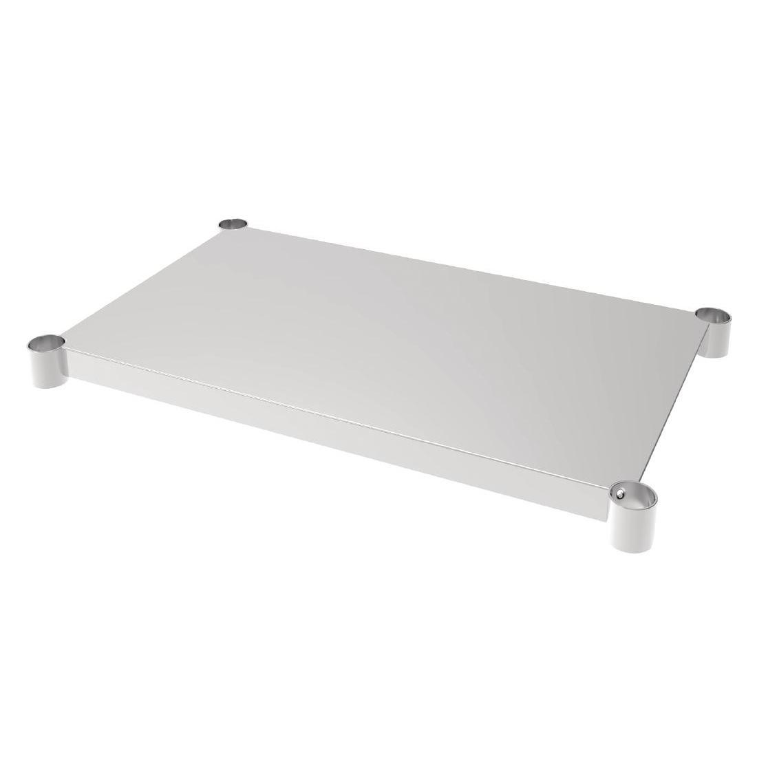 Vogue Stainless Steel Table Shelf 600x900mm - Each - CP831