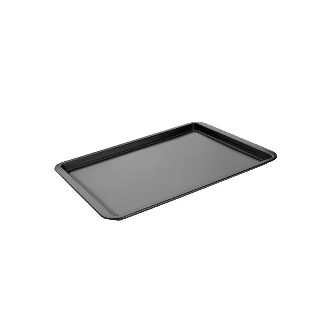Vogue Non-Stick Carbon Steel Baking Tray 370 x 257mm - Each - GD014