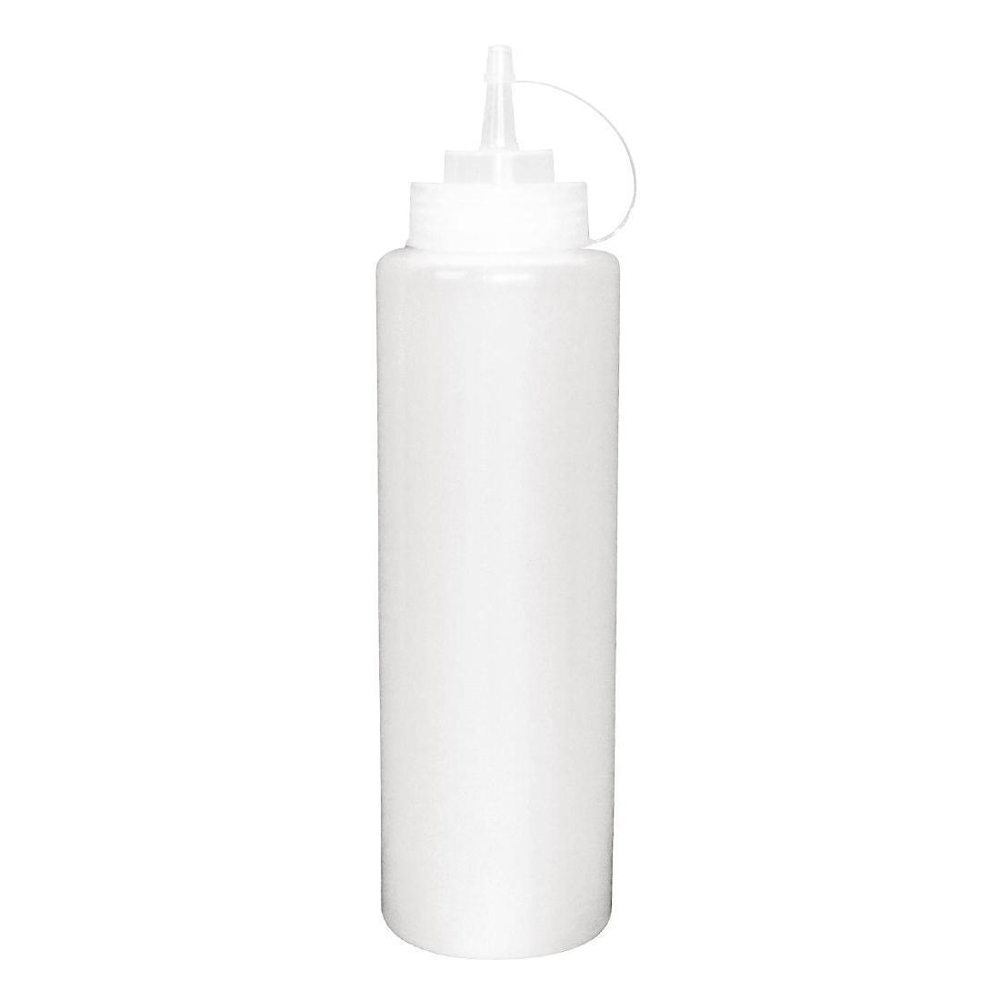 Vogue Clear Squeeze Sauce Bottle 35oz - W832