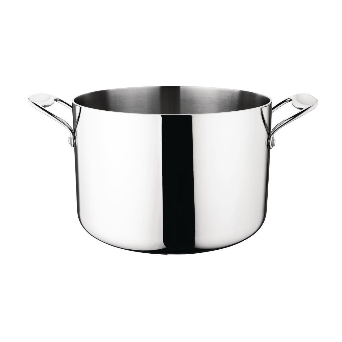 Vogue Tri Wall Stew Pan 7Ltr - Y255