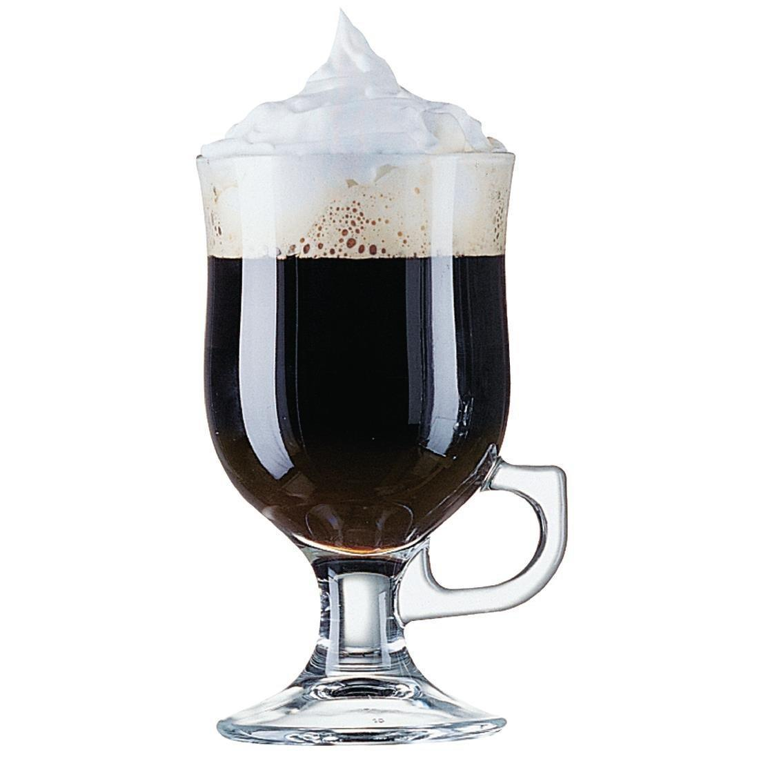 Arc Irish Coffee Glass Toughened - 8.5oz 240ml (Box 24) - CJ330