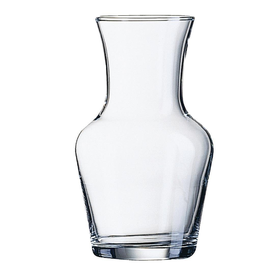 Arc Vin Carafe - 0.5Ltr 0.9pt (Box 12) - DP103