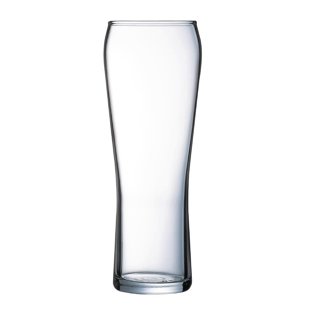"Edge Hiball Beer Glass - 570ml 20oz CE ""Head Booster"" (Box 24) - GL152"
