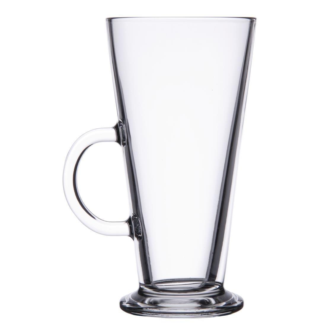 Latte Coffee Glass Toughened - 450ml 16oz (Box 6) - GF465