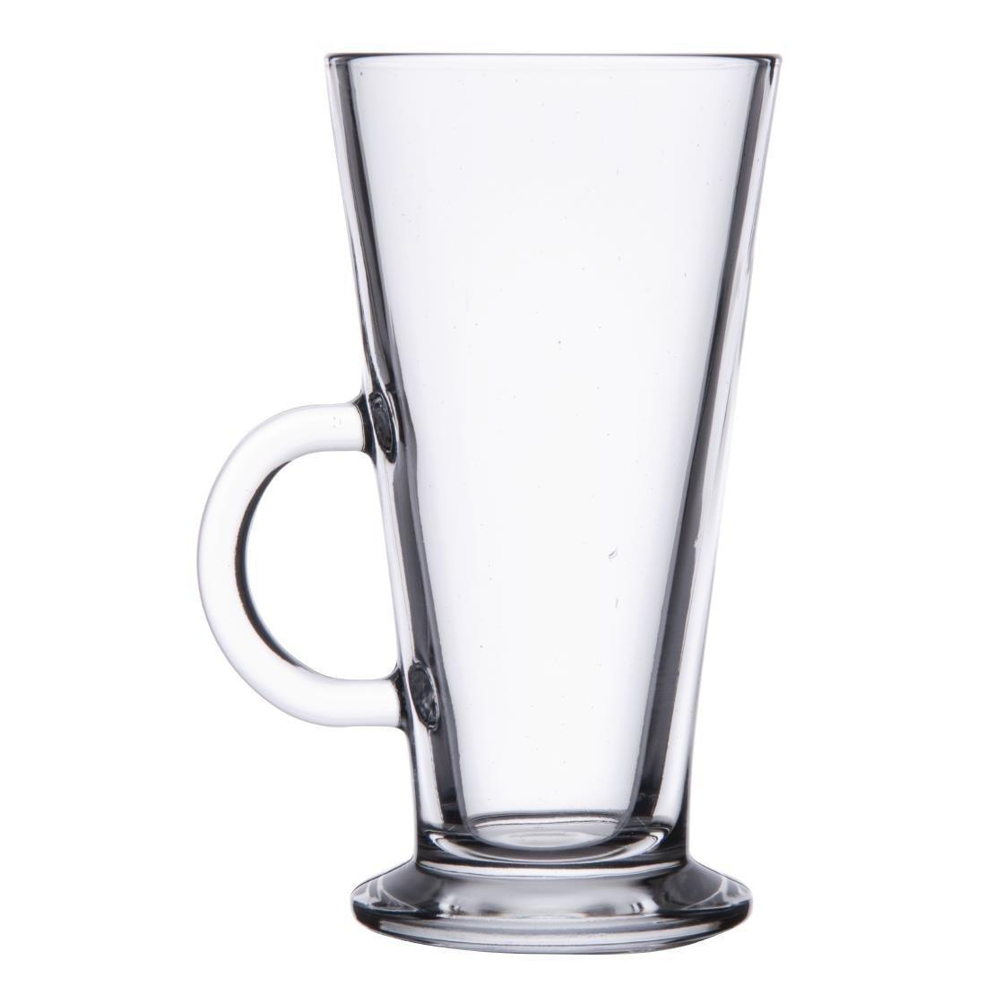 Latte Coffee Glass Toughened - 285ml 10oz (Box 12) - T707