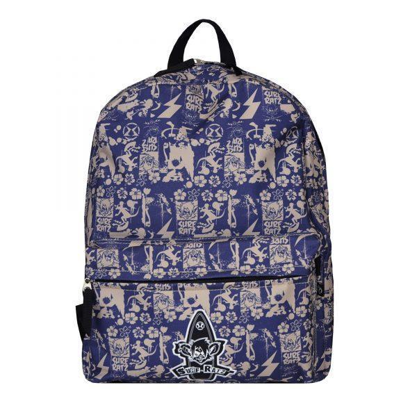 Surf Ratz SuperGrunge Backpack – Blue/Stone - surf-ratzz