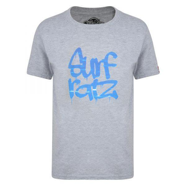 Surf Ratz Water Kids T-Shirt – Sport Grey - surf-ratzz