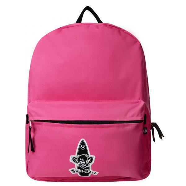 Surf Ratz Board Logo Backpack – Pink - surf-ratzz