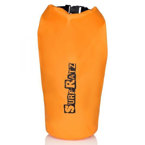 Surf Ratz Waterproof Duffle Bag, Orange 10L Capacity - surf-ratzz