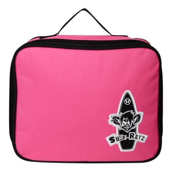 Surf Ratz Board Logo Lunch Bag – Pink - surf-ratzz