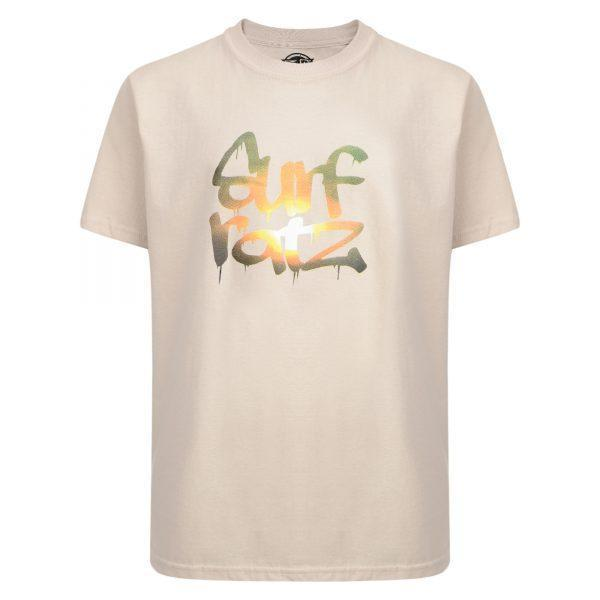 Surf Ratz Sunset T-Shirt – Sand - surf-ratzz