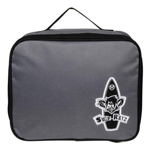 Surf Ratz Board Logo Lunch Bag – Grey - surf-ratzz