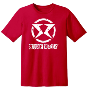 Surf Ratz SR Logo Kid's T-Shirt – Red - surf-ratzz