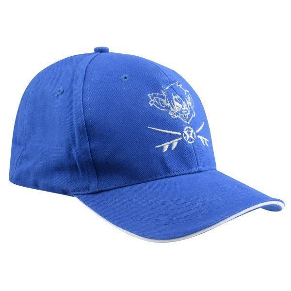 RatHead Baseball Cap – Royal Blue/White - surf-ratzz