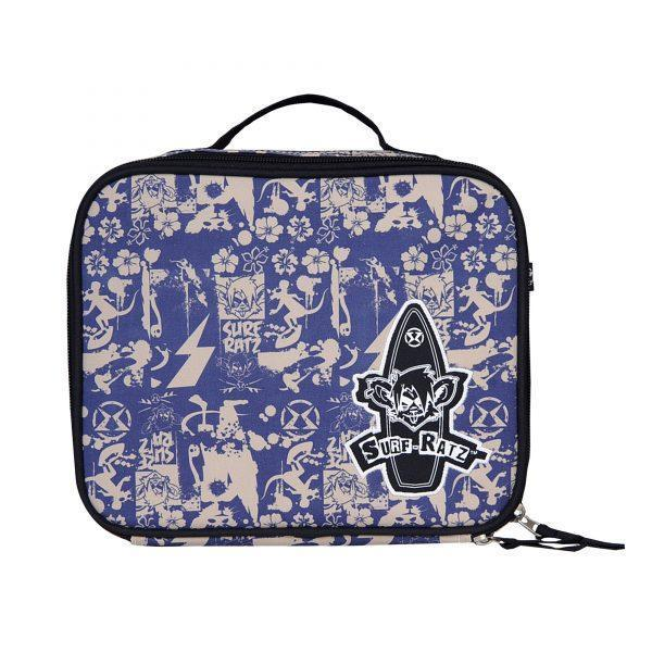 Surf Ratz SuperGrunge Lunch Bag – Blue/Stone - surf-ratzz