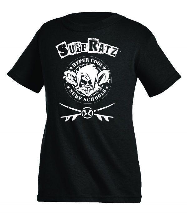 Surf Ratz Hyper Cool Surf T-Shirt – Black - surf-ratzz