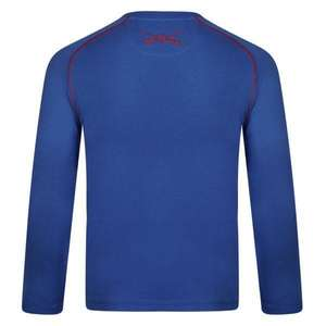 Surf Ratz Waves Long Sleeved Tee – Ocean Blue - surf-ratzz