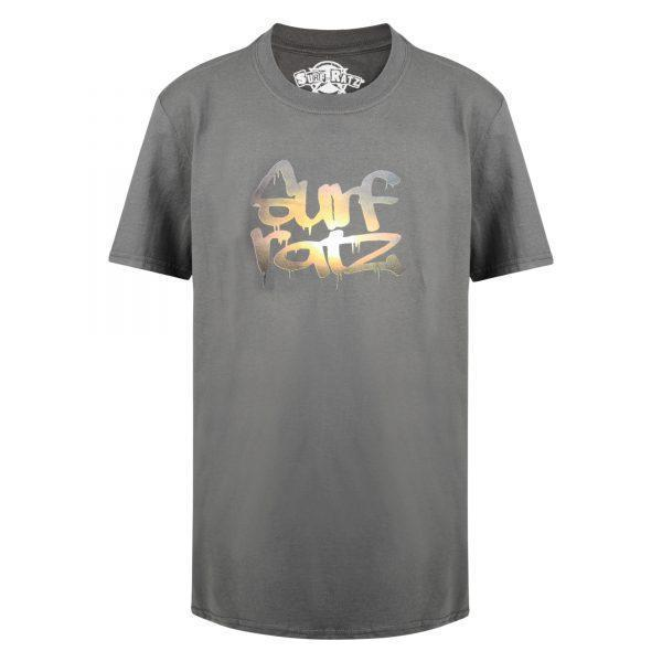 Surf Ratz Sunset T-Shirt – Charcoal - surf-ratzz