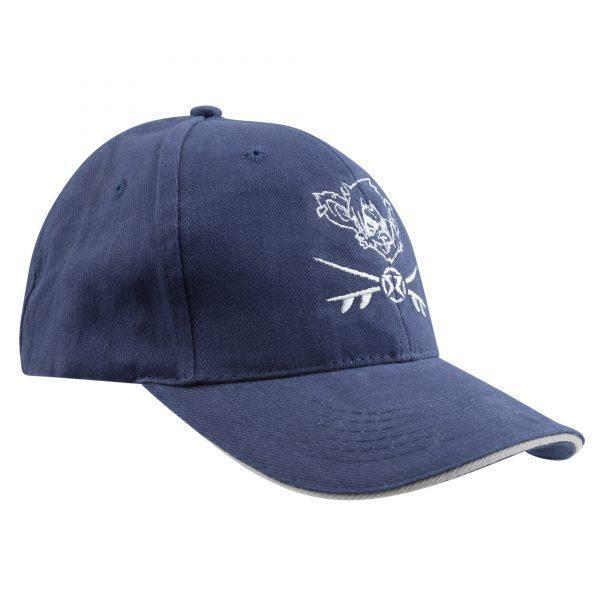 RatHead Baseball Cap – Navy/Grey - surf-ratzz