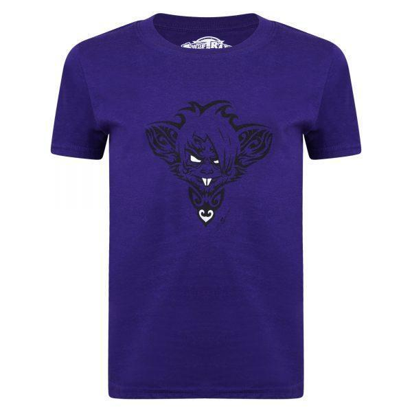 Ratz Rat Tatt T-shirt – Purple - surf-ratz
