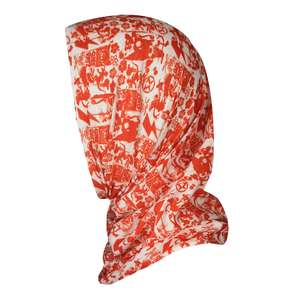 SuperGrunge UV Protection Bandana – Orange/Ivory - surf-ratzz