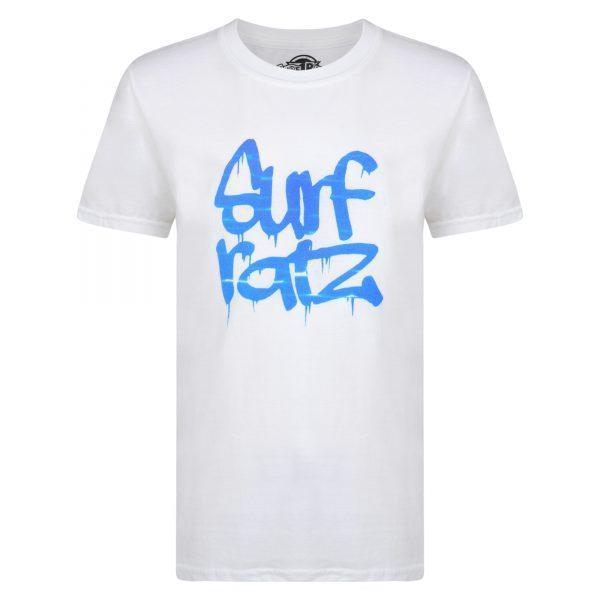 Surf Ratz Water Kids T-shirt – White - surf-ratzz