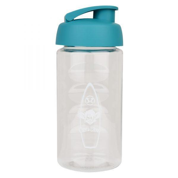 Surf Ratz Board Logo Kids Water Bottle – Clear - surf-ratzz