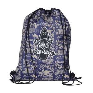 Surf Ratz SuperGrunge Drawstring Bag – Blue/Stone - surf-ratzz