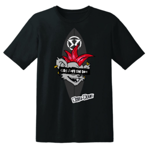 Surf Ratz God Save The Surf T-Shirt – Black - surf-ratzz