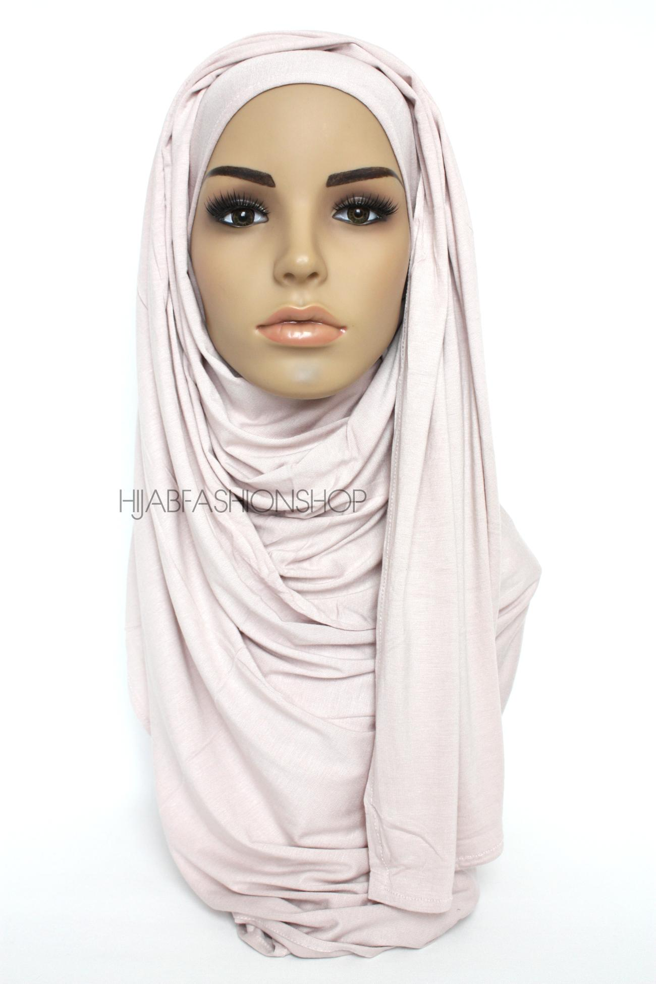 fog colour jersey hijab