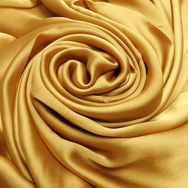 gold satin silk hijab