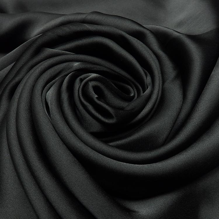 black satin silk hijab