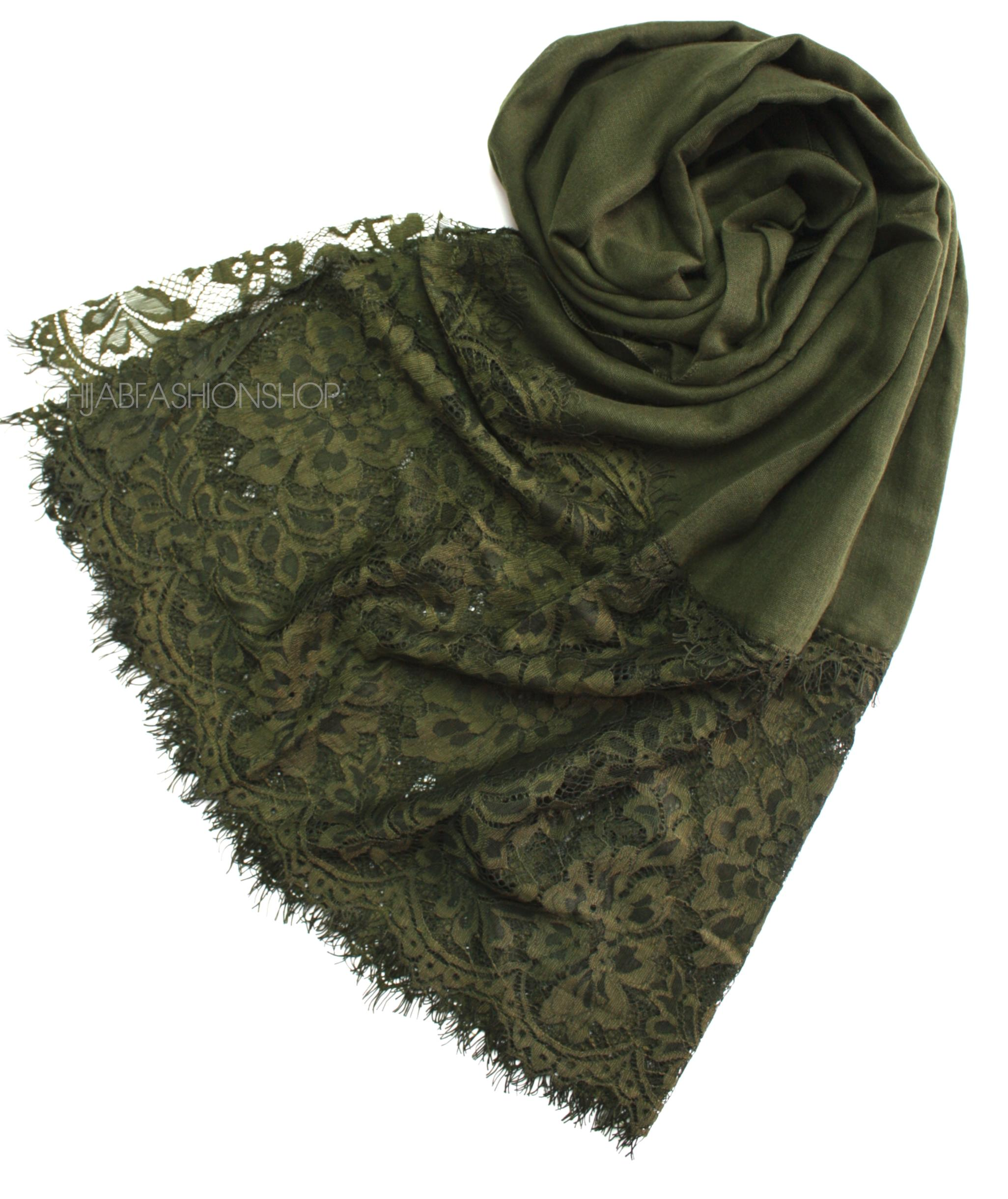 forest lace hijab