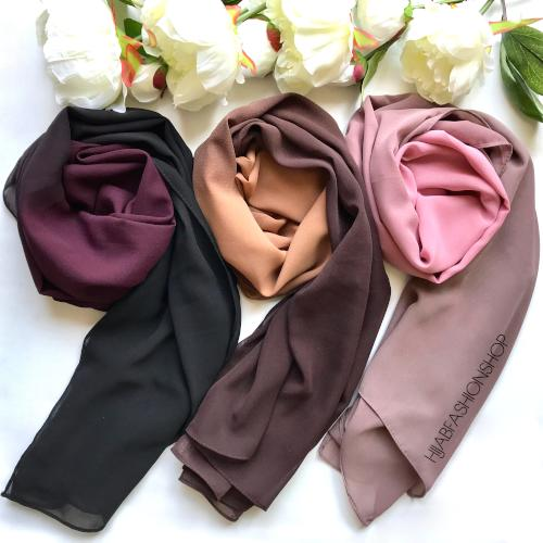 Ombre Hijabs