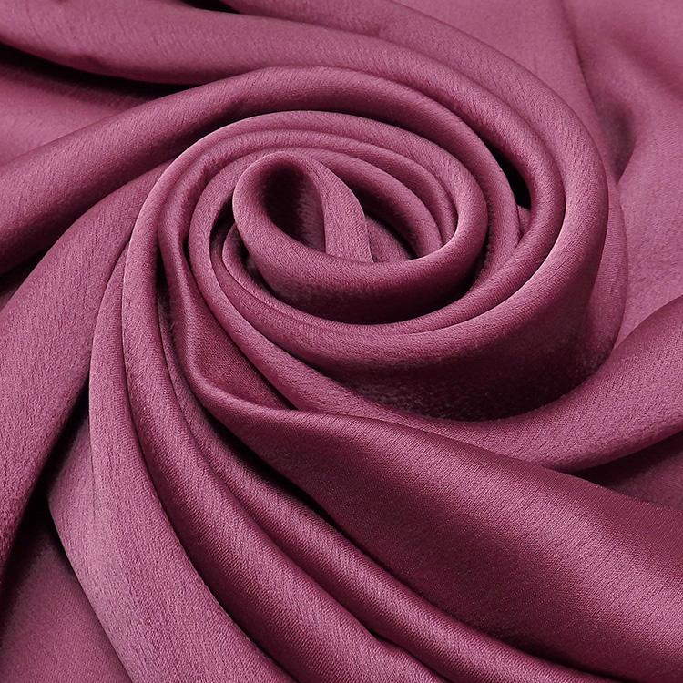 purple satin silk hijab